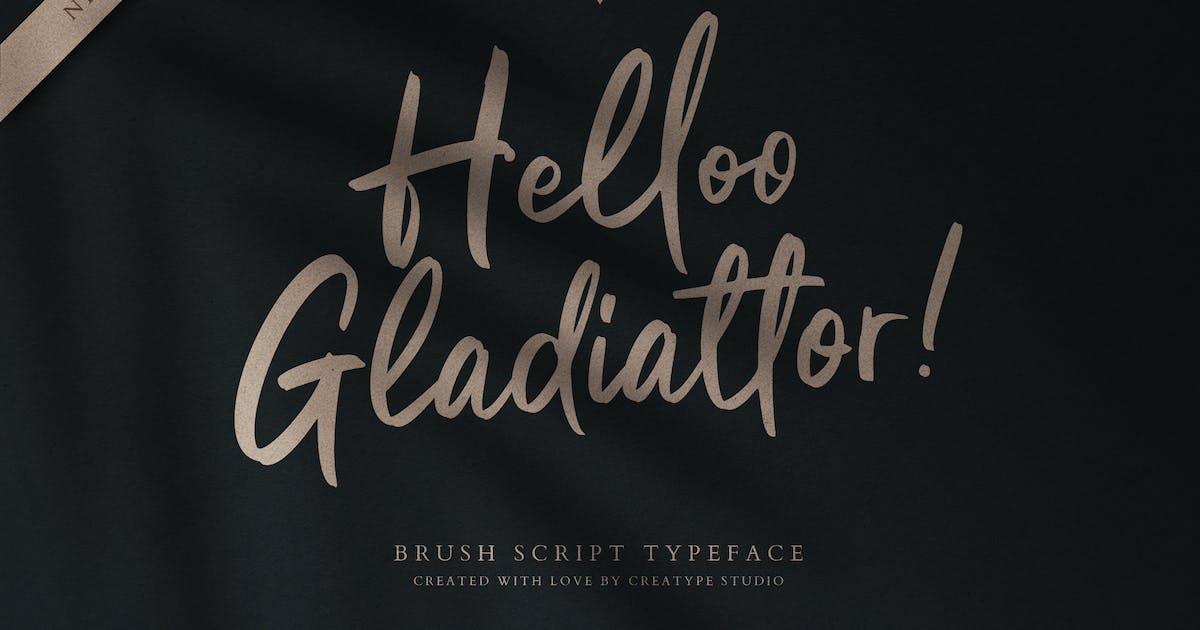 Download Helloo Gladiattor Brush Script by RahardiCreative