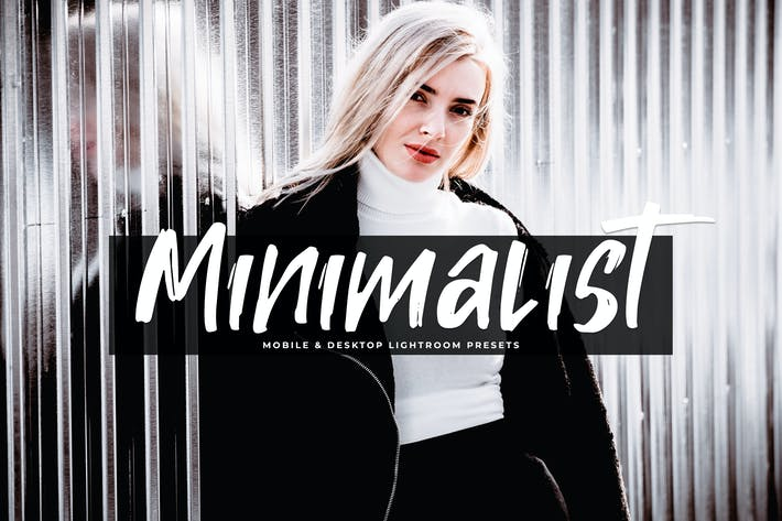 Thumbnail for Minimalist Mobile & Desktop Lightroom Presets