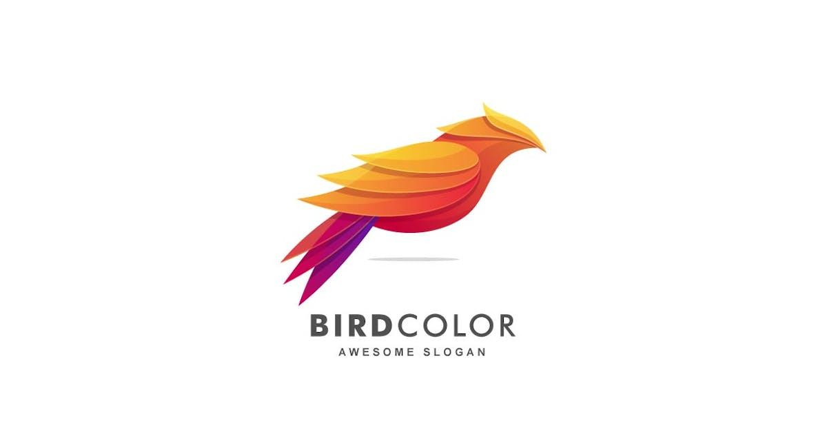 Download Abstract Bird Color Gradient Logo Template by ivan_artnivora