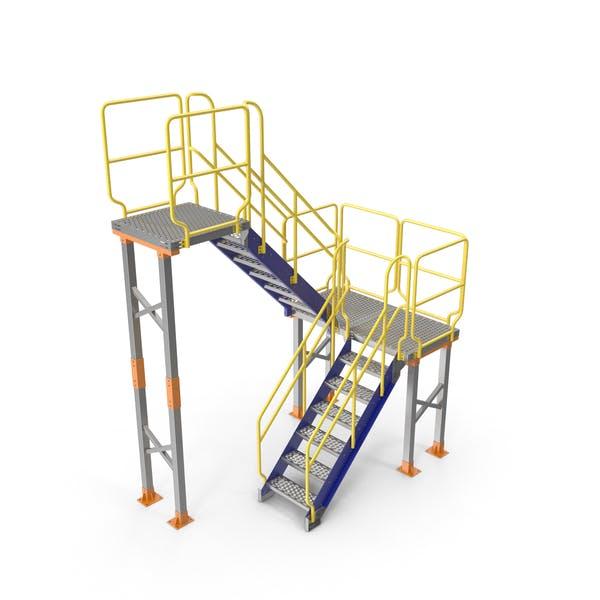 Mezzanine-Zugangsplattform
