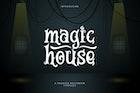 Magic House - Haunted Halloween Typeface