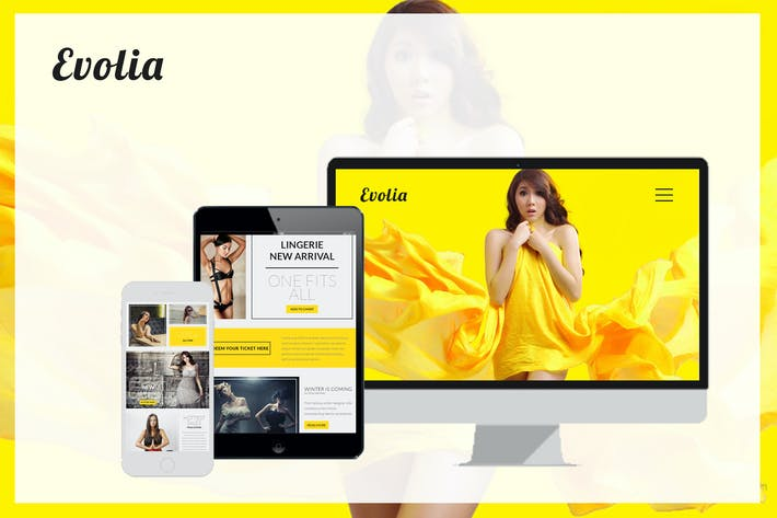 Evolia E-mail Newsletter eCommerce
