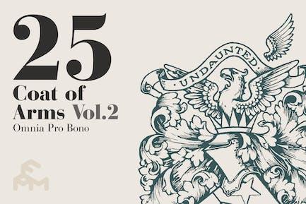25 Coat Of Arms - Vol.2