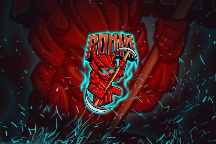 Thumbnail for Ronin - Mascot & Esports Logo YR