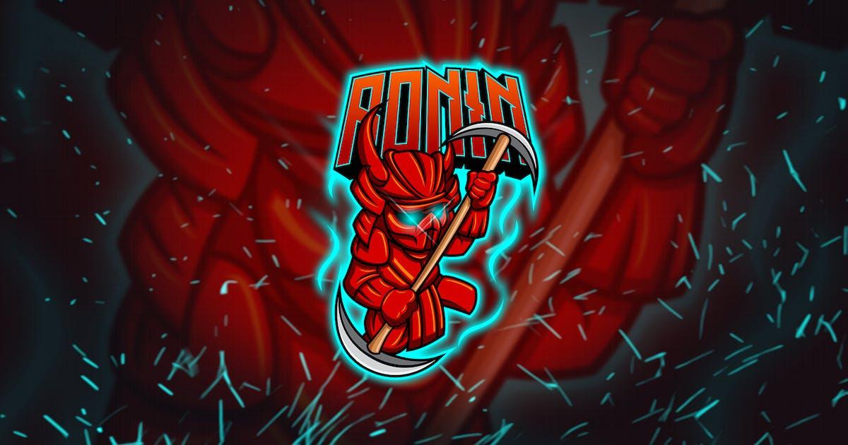 Download Ronin - Mascot & Esports Logo YR by Rometheme