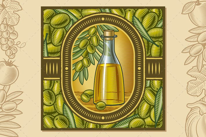 Thumbnail for Olive Oil Harvest Design
