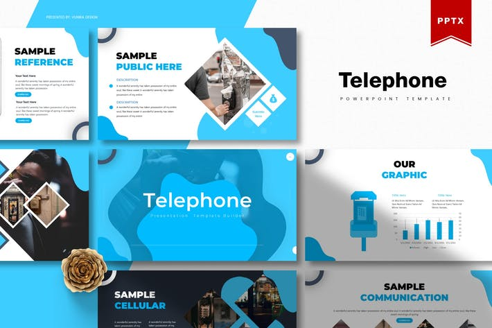 Thumbnail for Telephone | Powerpoint Template