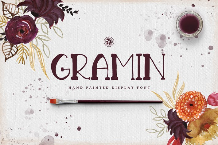 Cover Image For Gramin Font