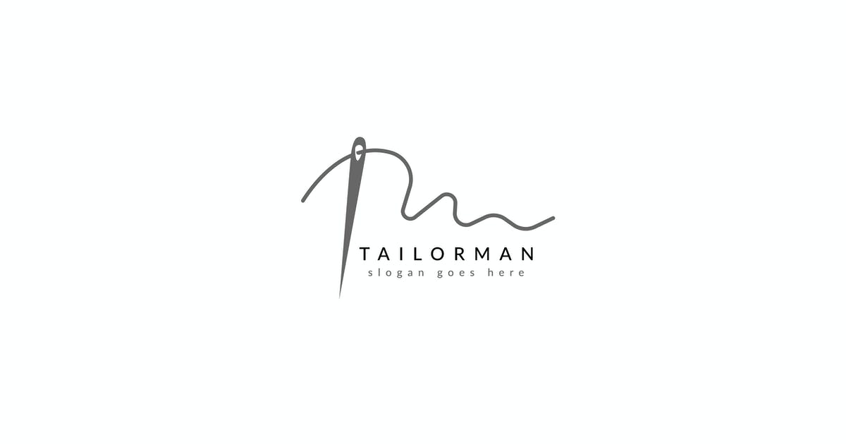 Download Simple Tailor Logo by Slidehack
