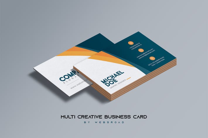 Thumbnail for Multi Creative Business Card Template
