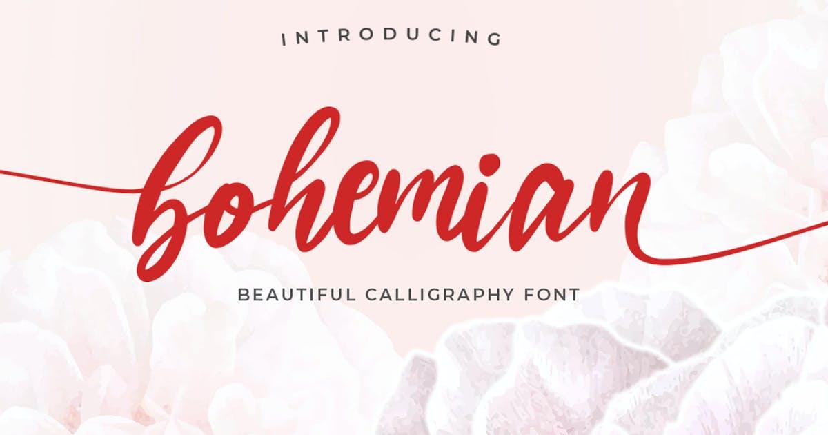 Download Bohemian Script by vultype