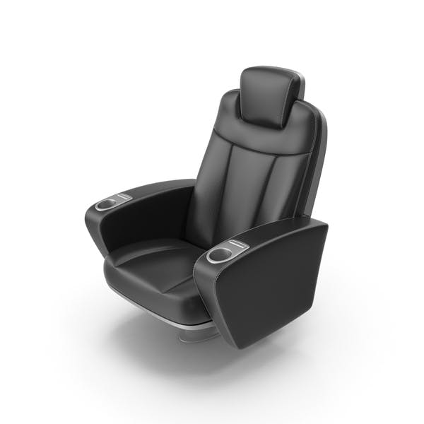 Black Figueras Cinema Seat
