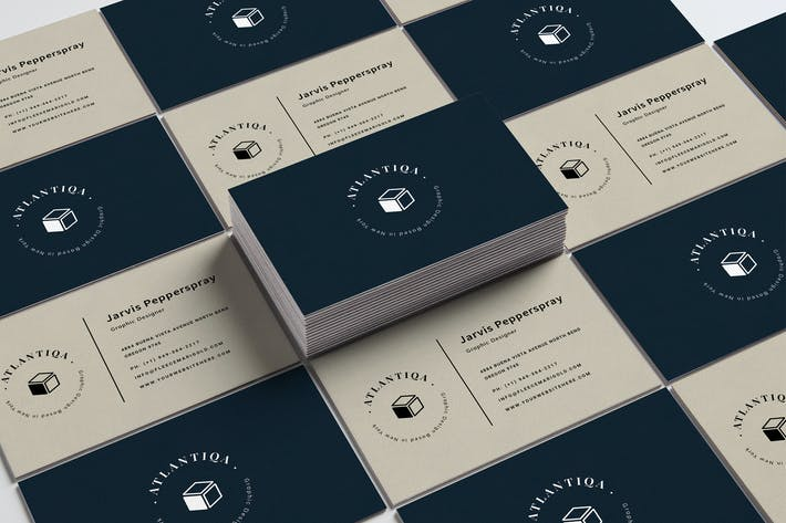 Thumbnail for Designer Minimal Business Card Template