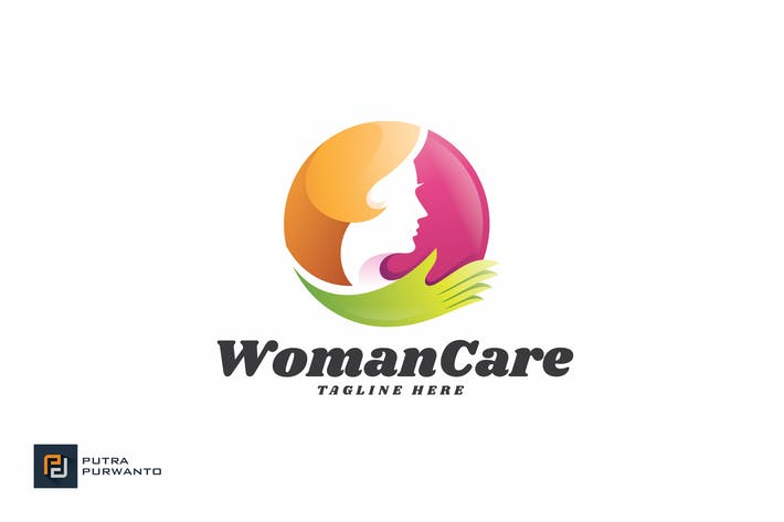 Thumbnail for Woman Care - Logo Template