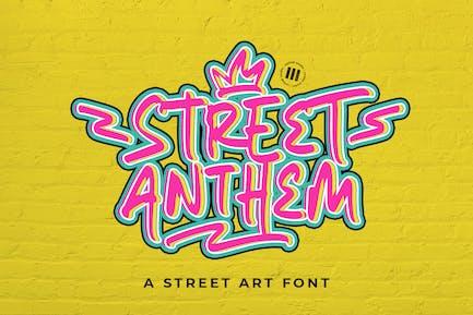 Street Anthem - An Urban Font