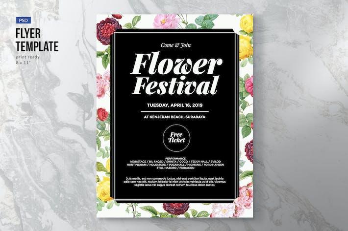 Thumbnail for Flower / Fashion / Festival Flyer Template
