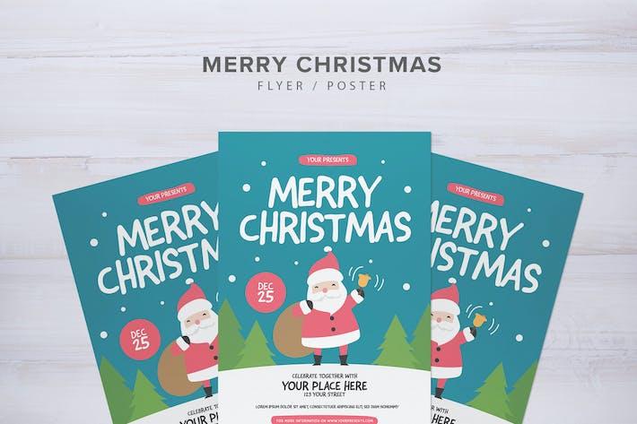 Thumbnail for Merry Christmas Flyer