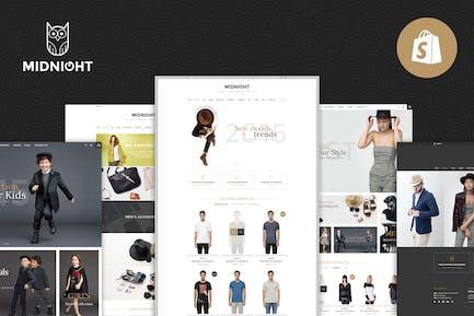 Midnight | Responsive Shopify Theme