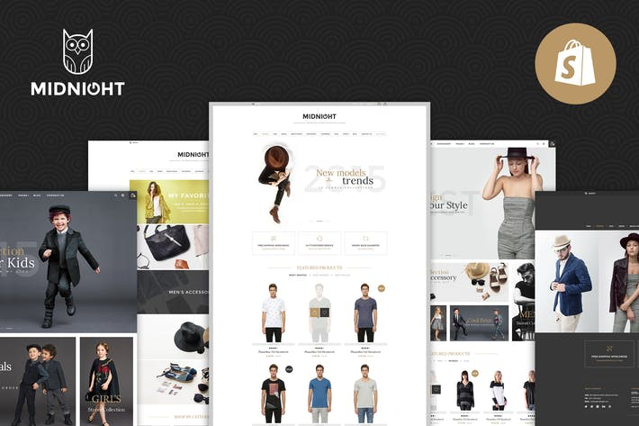 Thumbnail for Midnight | Responsive Shopify Theme