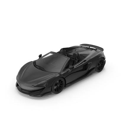 Спортивный автомобиль Черный