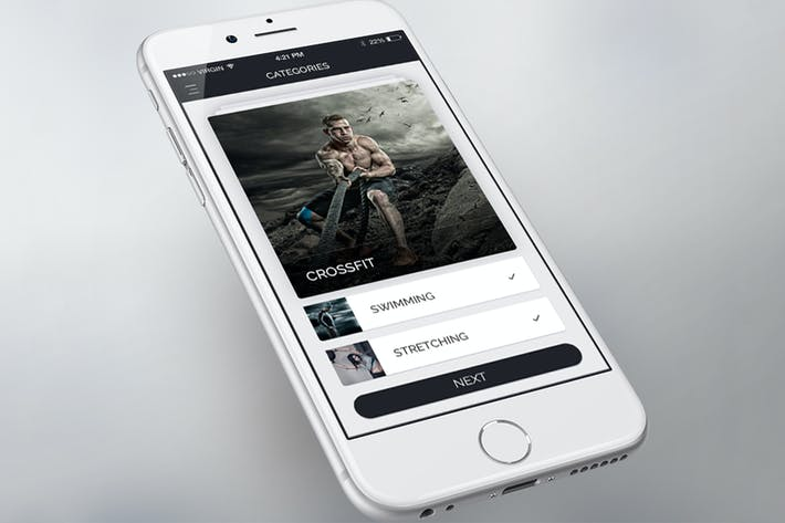 Thumbnail for Categories Selection Screen