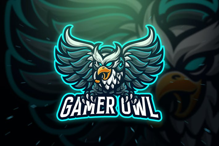Thumbnail for Gamer Owl Sport and Esport Logo Template