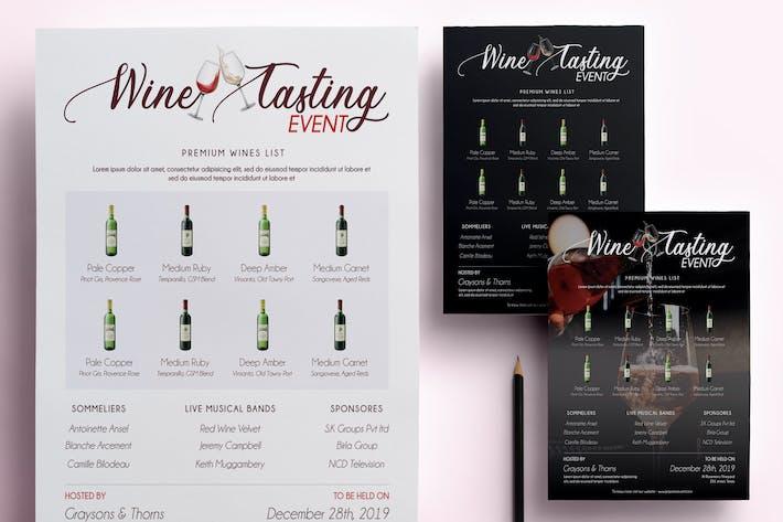 Thumbnail for Wine Tasting Flyer/Poster II