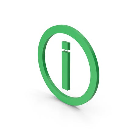 Symbol Inverted Exclamation Mark Green