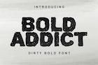 Bold Addict Font