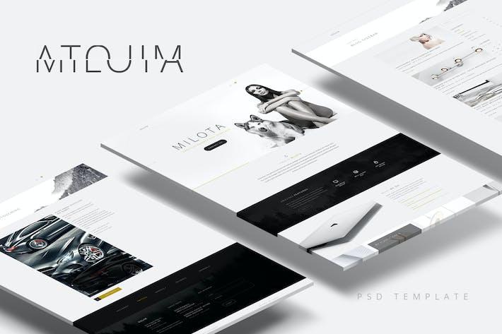 Thumbnail for Milota — Modern Personal/Studio Portfolio