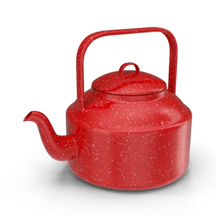 Чайник из красного чая