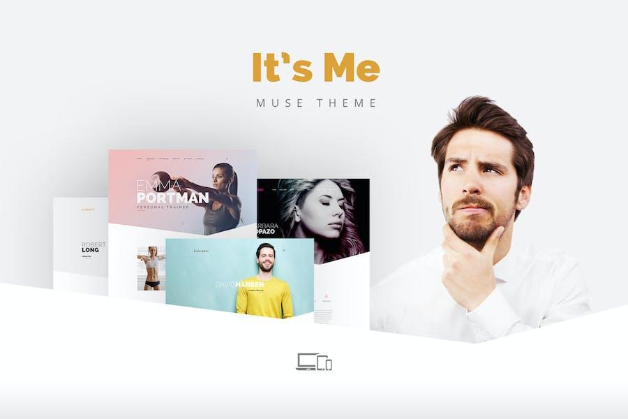It's me — Creative Multipage Portfolio Muse Theme