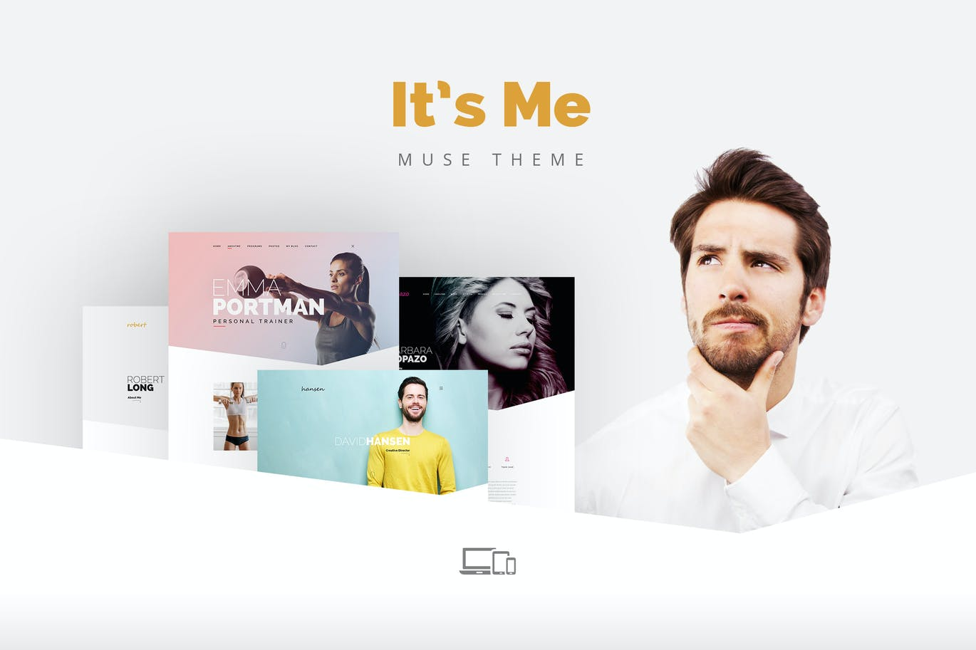 Its me creative multipage portfolio muse theme by torbara on its me creative multipage portfolio muse theme by torbara on envato elements maxwellsz