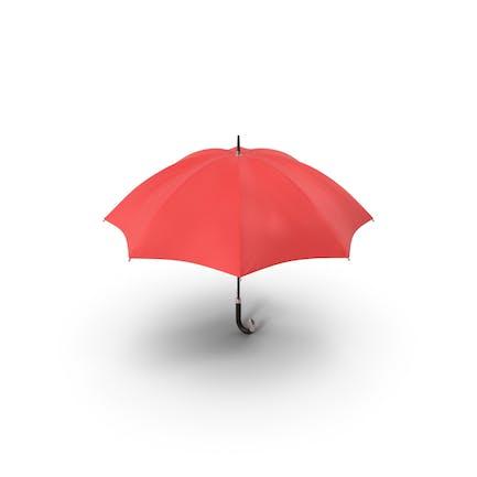 Paraguas rojo