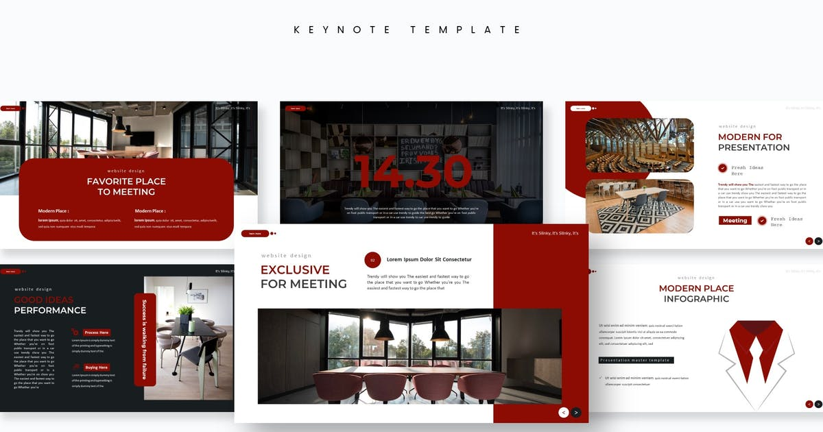 Download Conference - Keynote Template by aqrstudio