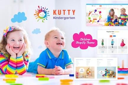 Kutty Kids | Children Shopify Theme