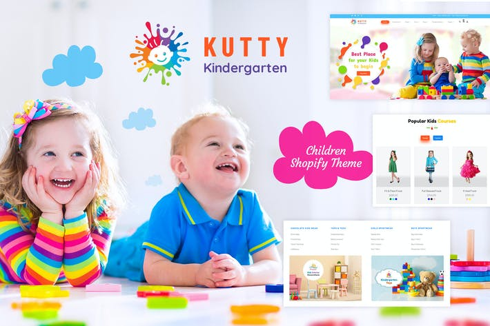 Thumbnail for Kutty Kids | Children Shopify Theme