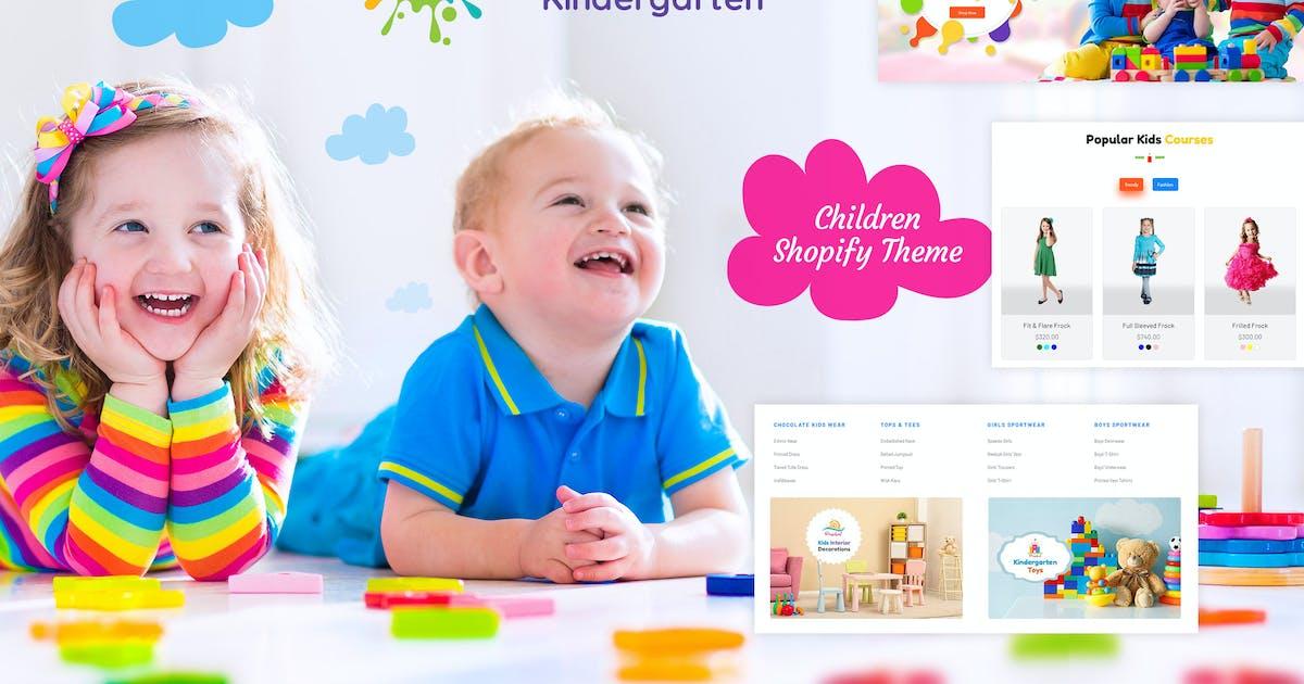 Download Kutty Kids | Children Shopify Theme by BuddhaThemes