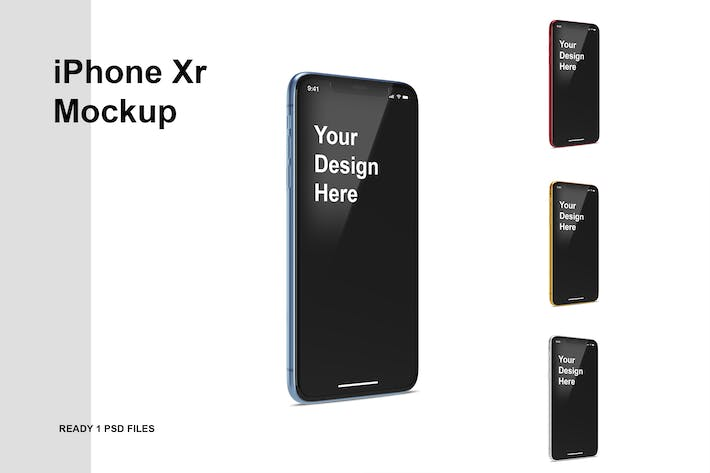 Thumbnail for iPhone Xr Mockup
