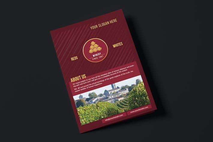 Dj A5 Brochure Template By Wutip On Envato Elements