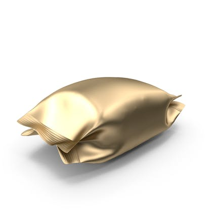 Gold-Folien-Snack-Paket