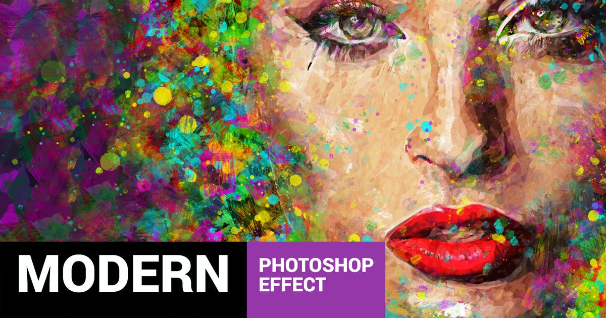 Download Acrylum - Modern Art Photoshop Action by profactions