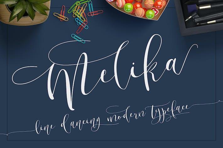 Thumbnail for Melika Font Script