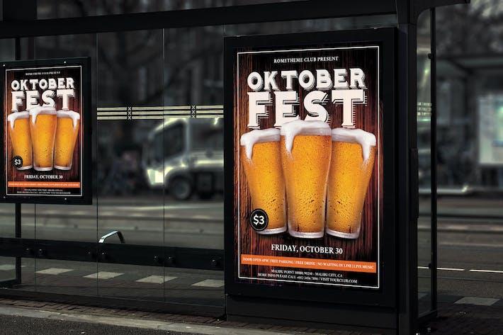 Oktoberfest - Party Poster RB
