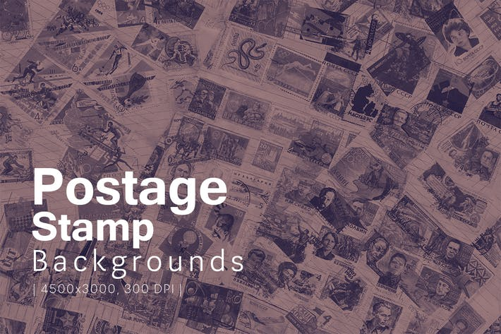 Thumbnail for Postage Stamp Backgrounds
