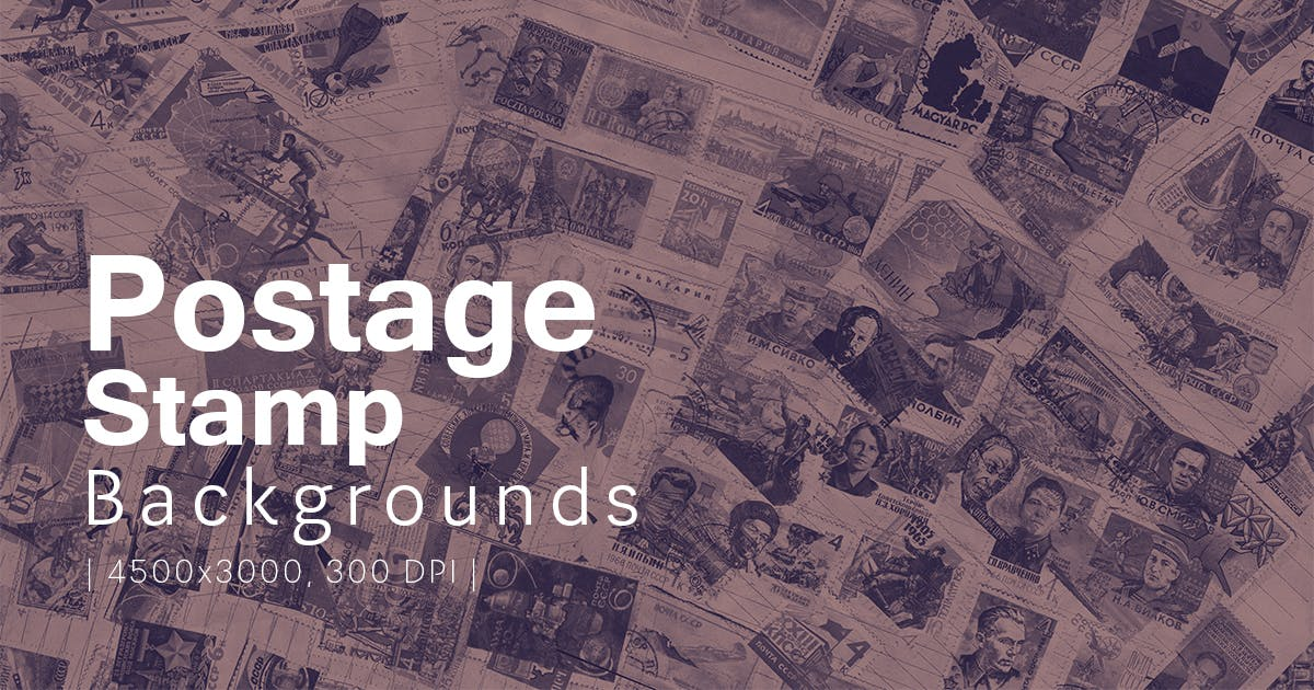 Download Postage Stamp Backgrounds by FreezeronMedia