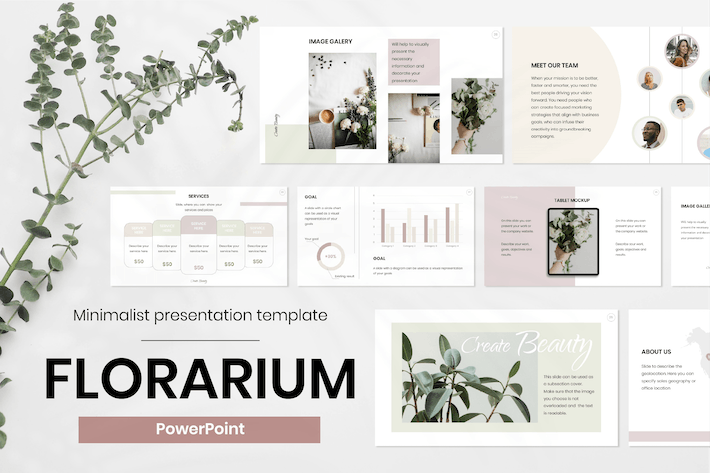 Thumbnail for Beauty PowerPoint Presentation Template