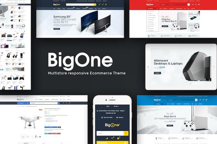 Bigone - Responsive Prestashop Theme