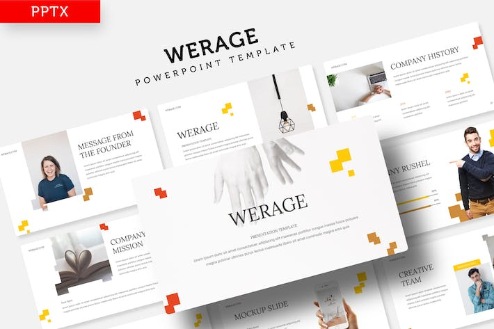 Cover Image For Werage - Power Point Template