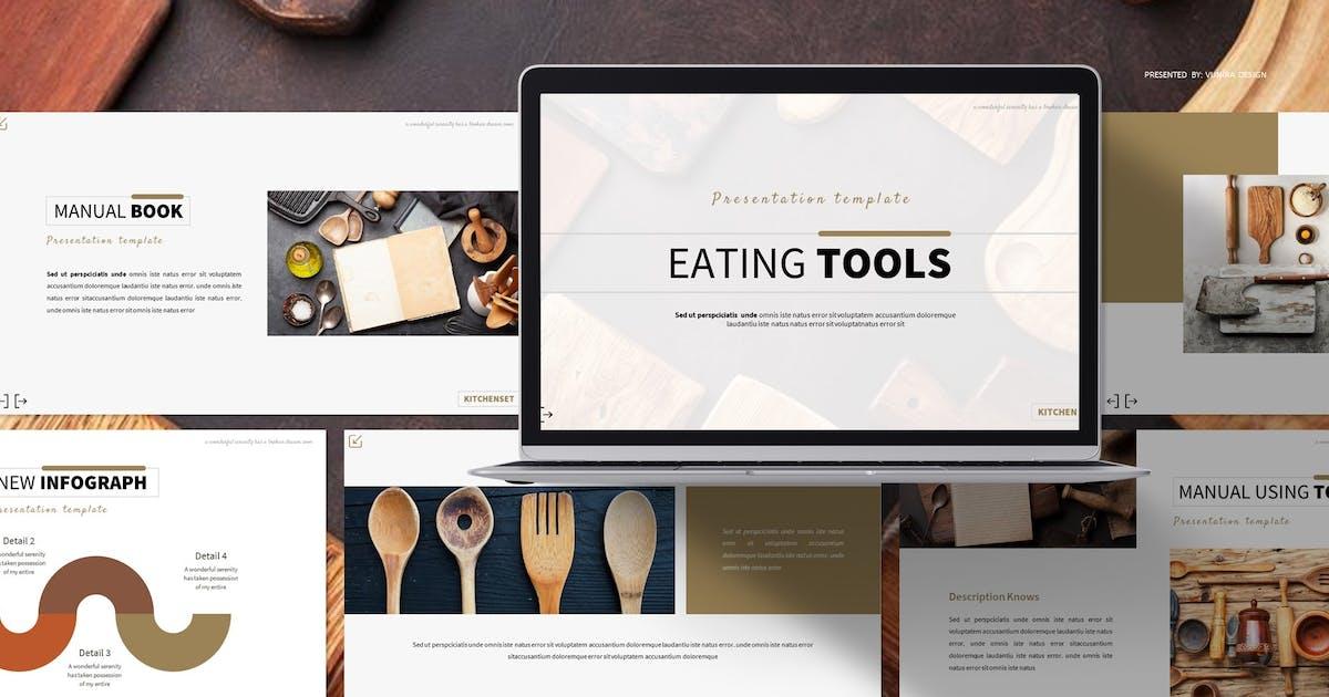 Download Eating Tools | Powerpoint, Keynote, Google Slides by Vunira